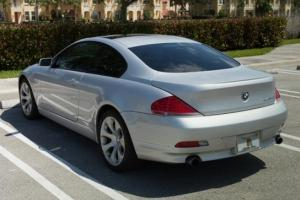 2004 BMW645CISport Package